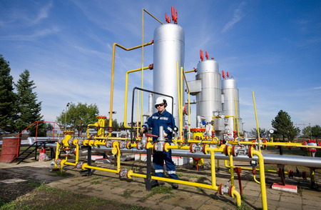 recursos naturales: Operador en la industria del gas natural