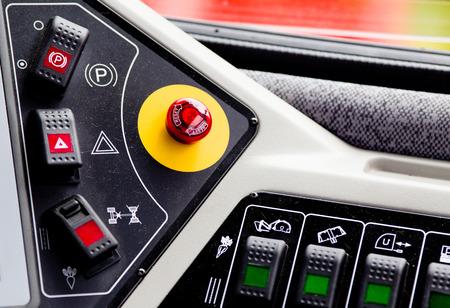 panel de control: Cierre de panel de control del veh�culo agr�cola