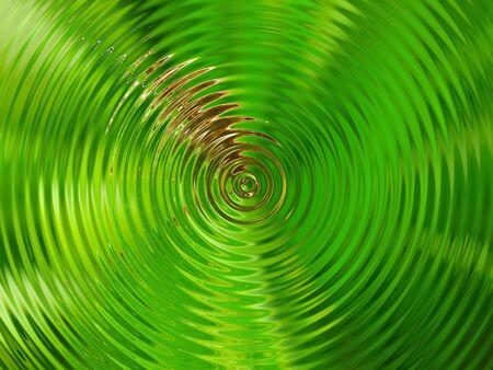 circular blue water ripple: water ripple Stock Photo