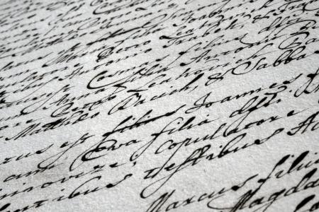 beautiful vintage handwriting