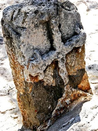 Ancient grave near a church in Dubrovnik photo