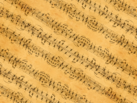 music sheet Banque d'images
