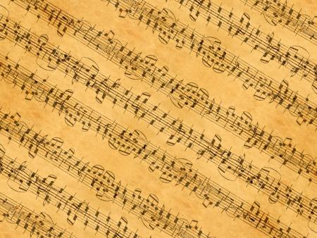sheet: music sheet Stock Photo