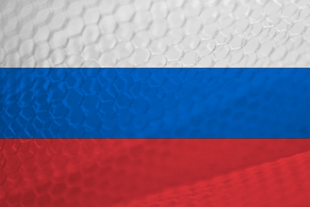 russian flag: Russian flag abstract