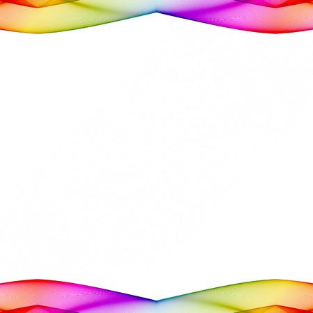 grens: kleurrijke grens Stockfoto