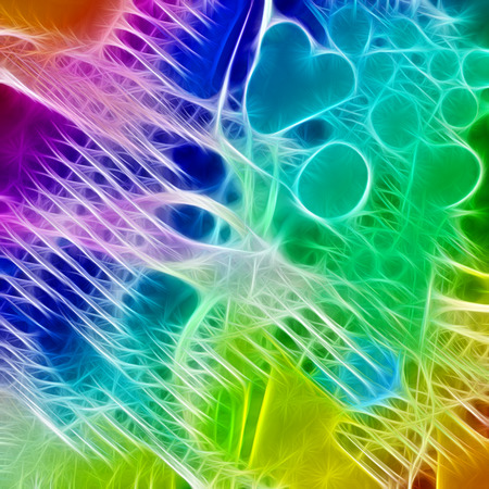 microbial: abstract background Stock Photo