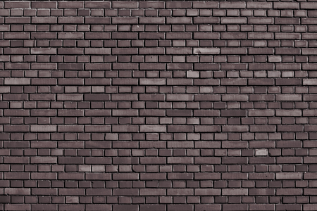 coffe bar brown brick wall background Banque d'images