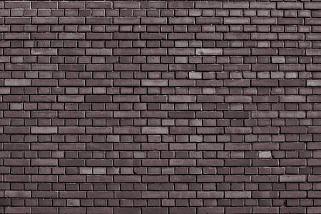 coffe bar brown brick wall background Reklamní fotografie