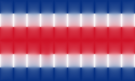 rican: abstract costa rica flag