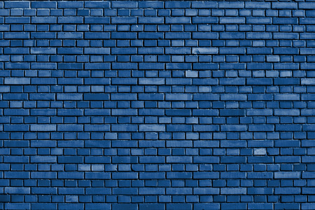 シュノーケル青レンガ壁の背景 写真素材