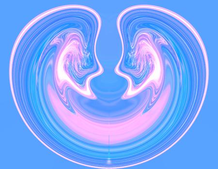 spiritual energy: love concept Stock Photo
