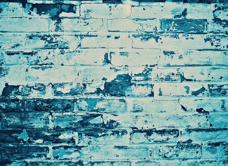 weathered: blue weathered wall background
