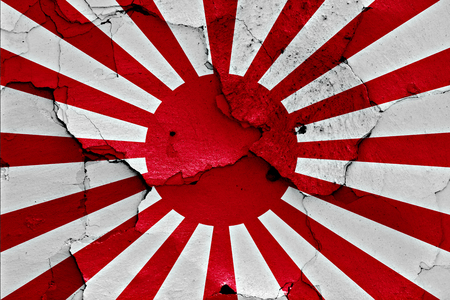 flag of Imperial Japanese Army Stock Photo