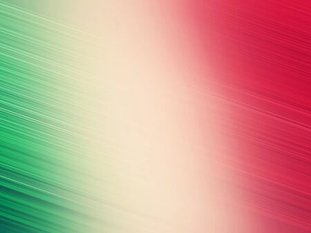 a green, white, red line background