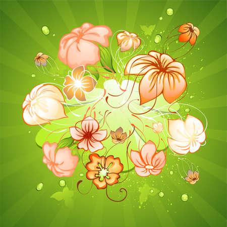 bloemen zoals zwevende onder water Jellyfishes
