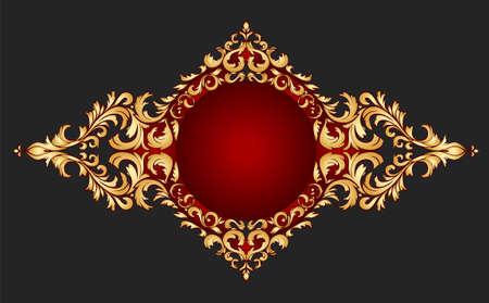 gouden frame klassieke stijl