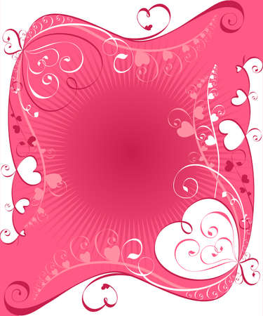 frame (backgrond) with ornaments Vector
