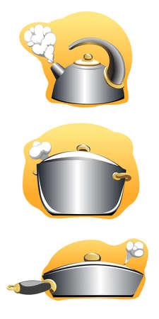 Set of utensils Illustration