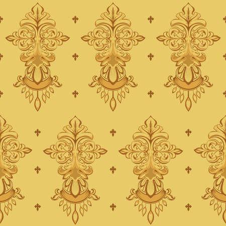 Seamless floral textuur
