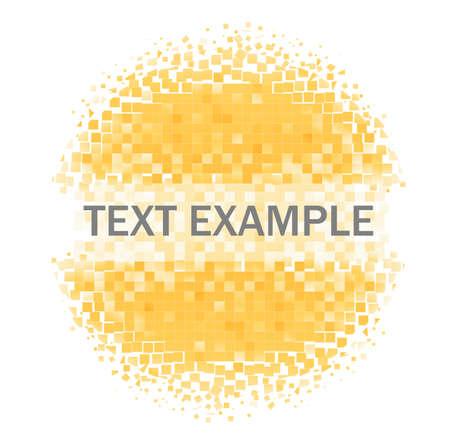kleur mozaïek cirkel achtergrond (frame)