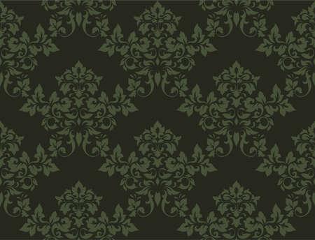 bloemen naadloze structuur voor ontwerp Stockfoto