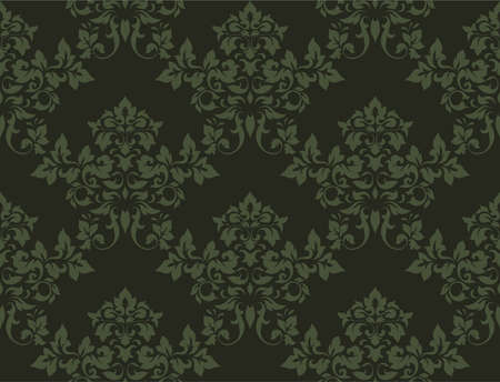 floral seamless texture for design Stock Photo