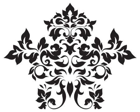 vector vintage element for design