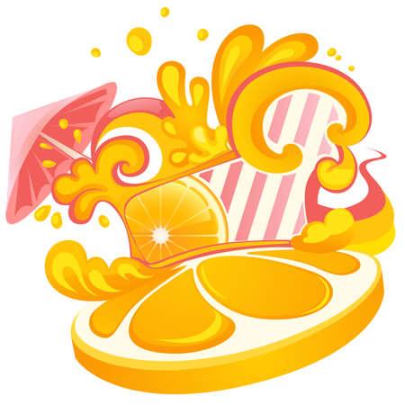 achtergrond met cocktail voor partij ontwerp