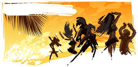 illustration of party background Illustration