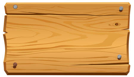 wood cuts: illustration of wood frame