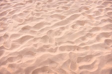 closeup of sand pattern of a beach in the summer Reklamní fotografie
