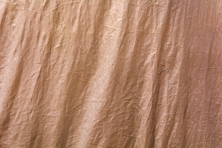 Closeup  Brown fabric texture full frame as background