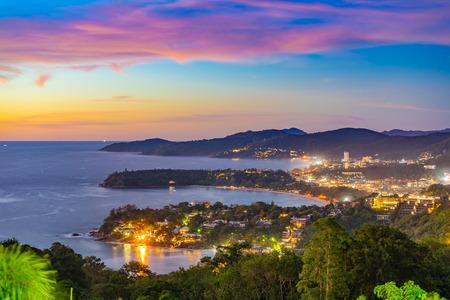 Seeaussichtspunkt Andamanensee Bei Phuket Thailand.