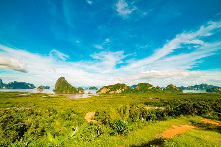 Samet Nang Chee Travel Phang Nga Province Thailand in summer
