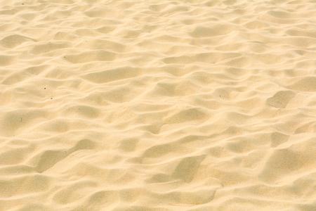 Full frame shot di texture di sabbia sulla spiaggia in estate Archivio Fotografico