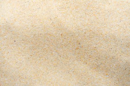 Sable fin de plage sous le soleil d'été Banque d'images
