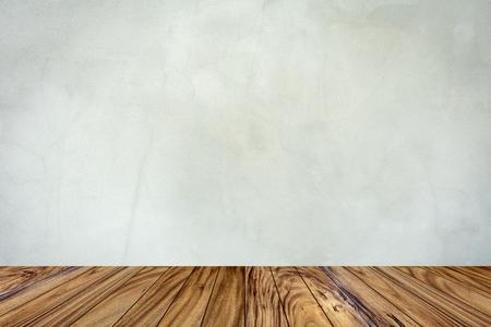 Interior- Floor wooden texture perspective in the room