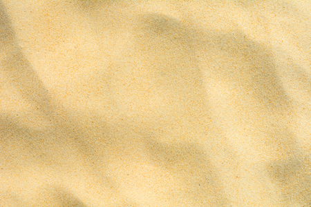 Full frame shot of sand texture on beach in the summer