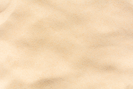 Full frame shot of sand texture on the beach in the summer