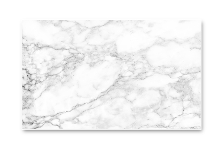 White marble texture. isolated on white screen.