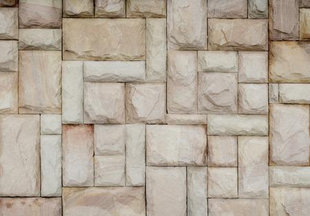 Close up- Stone wall texture background Standard-Bild