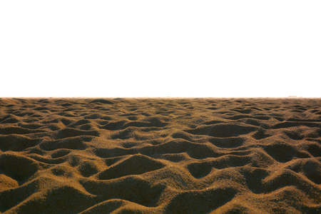 Close up- Sand texture background in the summer Standard-Bild