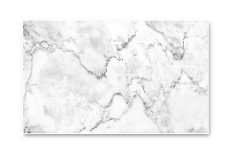 Closeup- White Marble Texture Isolated On White Screen