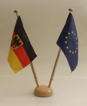 Tischflagge Deutschland Europa