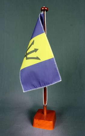 Table Flag Barbados