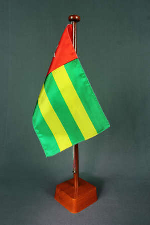 Table Flag Togo