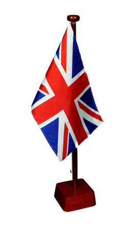 Table Flag Great Britain isolated