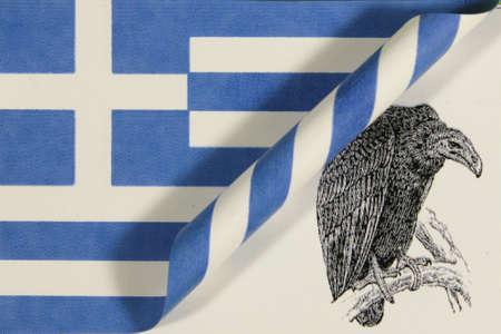 Flag Greece Geier