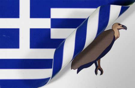 Greece flag Pleitegeier color
