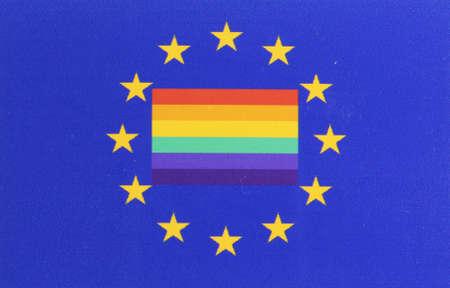 Rainbow Flag Europe